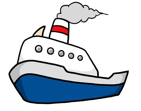 a boat cartoon best boat clipart 26175 clipartion