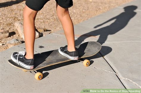 how to get comfortable on a skateboard how to do the basics of skateboarding 8 steps with pictures