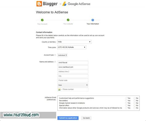 blogger qualify for adsense how to apply for google adsense from blogger guide