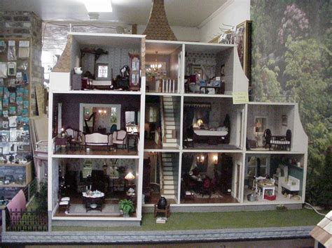 miniature doll house plans wood miniature dollhouse kits pdf plans