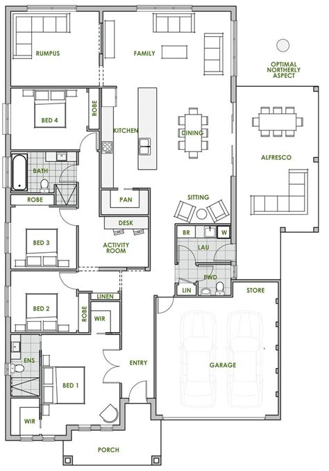 green floor plans best 25 house plans australia ideas on