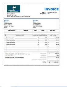 free sle invoice template excel sales invoice templates 27 exles in word and excel