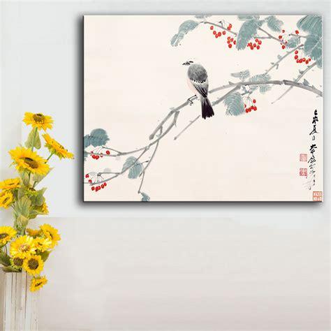 Wall Hiasan Dinding Canvas Print Unik 10 Ukuran 60x40 Cm cina kaligrafi gambar beli murah cina kaligrafi gambar