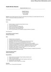 Workers Compensation Specialist Sle Resume by Care Worker Resume Sales Worker Lewesmr