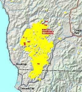 wildfire oregon map black line protects subdivision from biscuit oregon