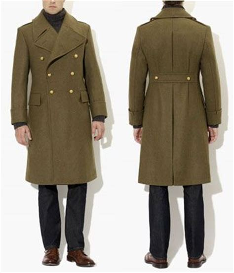 7 Great Coats For by Crombie Army Great Coat S Fashion