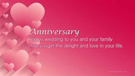 Wedding Anniversary Wishes For by Happy Wedding Anniversary Wishes For