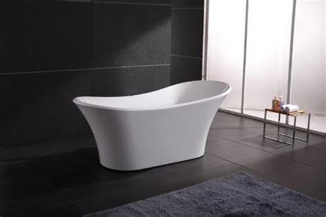 freestand bathtub akdy white freestand acrylic bathtub