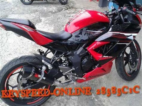 Rr Mono Akrapovic Layang Carbon rr mono knalpot scorpion carbon system by key speed konsumen