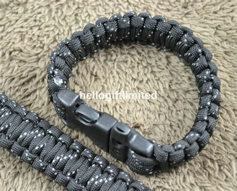 Hello Lu Emergency Recharge Big aliexpress buy 10 quot paracord 350 bracelets whistle