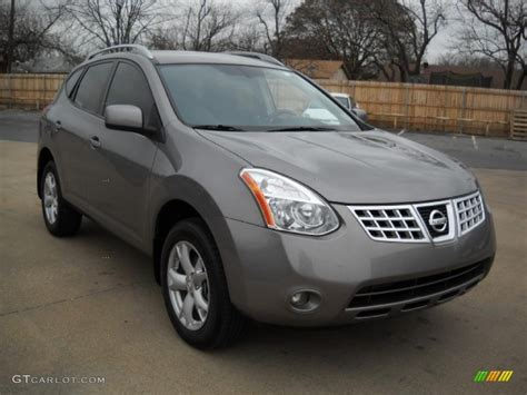grey nissan rogue 2009 gotham gray nissan rogue sl 25299709 photo 3