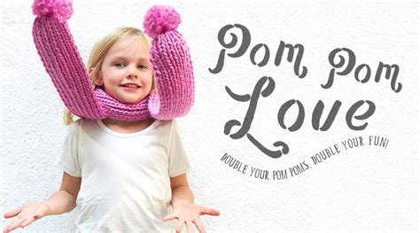 how to knit the baby pom scarf sheep and stitch
