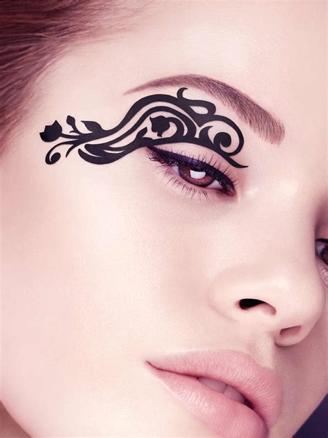 pretty face tattoo designs eye tattoos and designs page 114