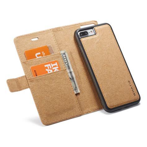 custodia  portafoglio rimovibile magnetico  carta kraft