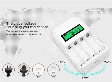 Enelong Baterai Cas Ni Mh Aa 2100mah 4pcs Hr6 Mn1500 battery charger 4 slot for aa aaa nicd nimh white jakartanotebook