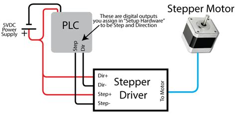 6 wire stepper motor diagram