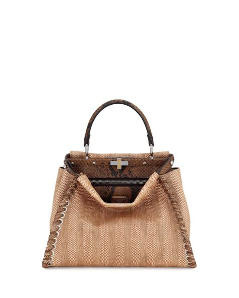 Fendi Bags by Fendi Resort 2017 Bag Collection Featuring Floral Bags