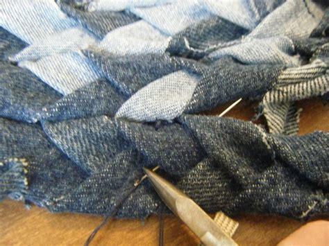 Rag Tie Rug Braided Denim Rag Rug 183 How To Make A Rag Rug 183 Braiding