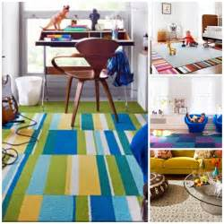 carpet squares for rooms creating a custom rug with stylish flor carpet tiles