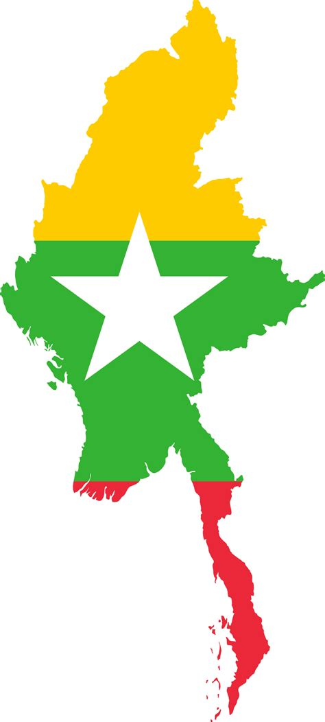 myanmar map png clipart myanmar map flag