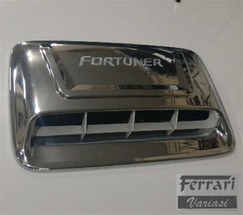 Fortuner Air Flow variasi surabaya air flow chrome tempel fortuner