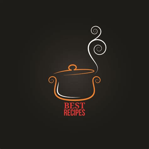 restaurant logo design vector offbeat restaurant menu logo design vector 03 vector logo free