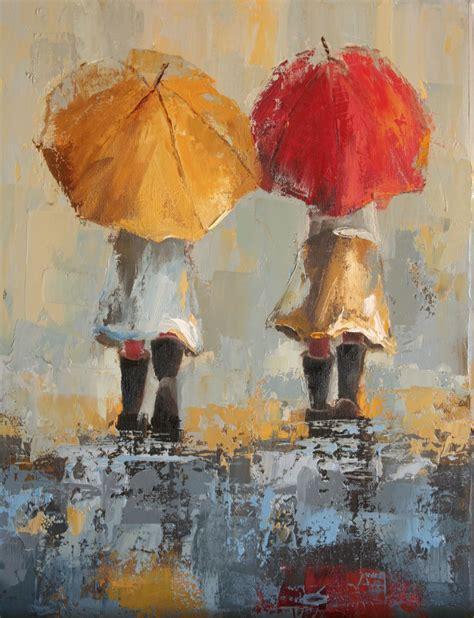 umbrella painting quot umbrella quot by angela nesbit squish