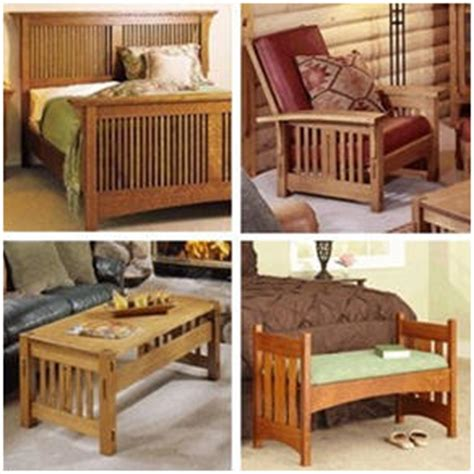 Mission Style Furniture Plans From Wood Store