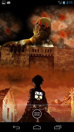 theme line android attack on titan live wallpaper attack on titan app for android