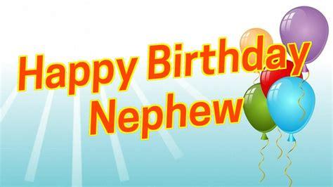Happy Birthday Wishes Quotes For Nephew