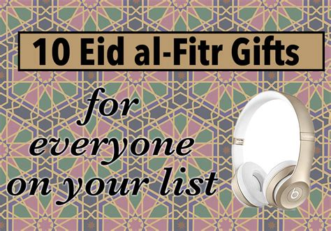 10 eid al fitr gifts for everyone on your list