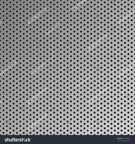 hole pattern en francais metal seamless background vector steel pattern stock