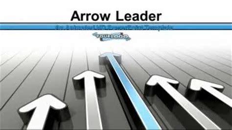 housing finance powerpoint template arrow leader a business and finance powerpoint template