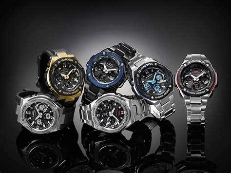 Casio G Shock Gst S110bd 1a2dr Tough Solar Stainless Steel Band 200m gst s110d 1a products g shock casio