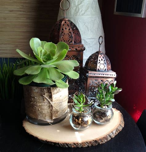 Birch Bark Wedding Centerpiece Low Large Wood Wrapped Vase Birch Wedding Centerpieces