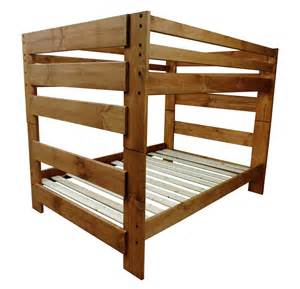 Pine Bunk Beds With Stairs Pine Bunk Bed In Wash With Optional Stairs At Gowfb Ca Rustic Classics