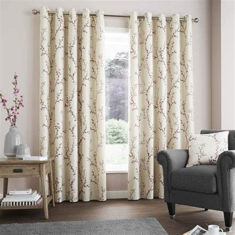 curtain shabby chic blackout curtains coral and