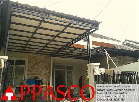 kanopi galvanis atap spandex  plafon grc jual