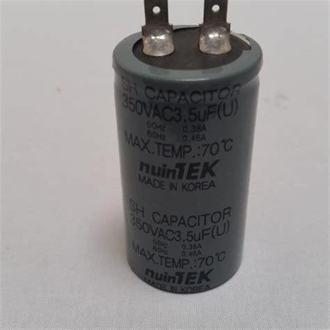 sh capacitor 50 nuintek kuk kwang 350vac 3 5uf 50 60hz sh capacitor fridgebits