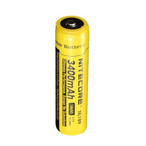 Termurah Nitecore 18650 Rechargeable Li Ion Battery 3400mah 3 7v nitecore nl189 3400mah 18650 rechargeable battery ebay