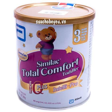 similac total comfort 3 sữa similac total comfort số 3 hộp 360g 1 3 tuổi