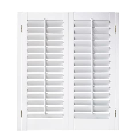 interior plantation shutters home depot design ideas