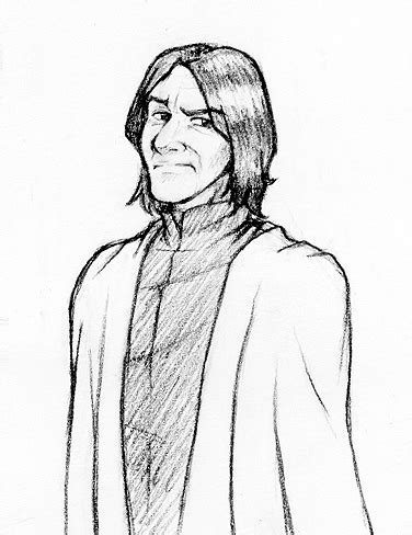 harry potter coloring pages snape professor snape by laerry on deviantart