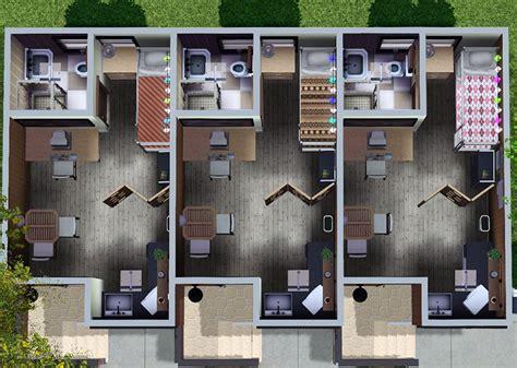 Cheap 4 Bedroom House Plans mod the sims nona 10x15 3 unit apartment building no