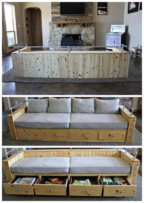 diy sofa  crib mattress cushions  bed pillows