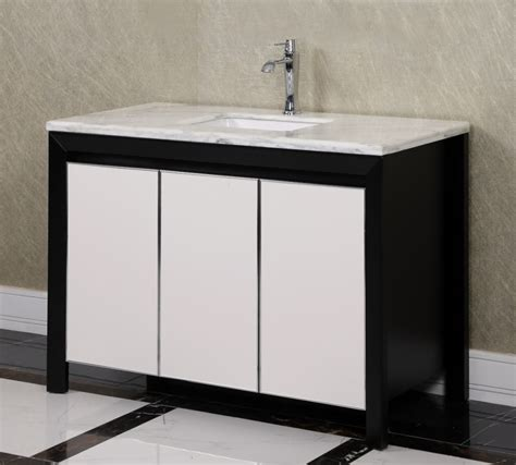 47 bathroom vanity 2 bathroom 47 2 inch single sink bathroom vanity in matte black with