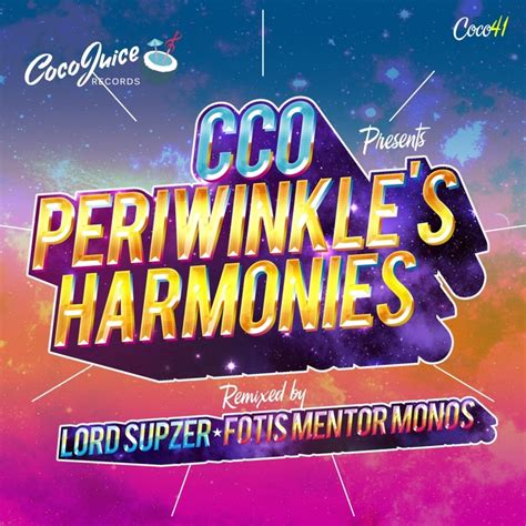 Cover Cco periwinkle s harmonies by cco on mp3 wav flac aiff alac at juno