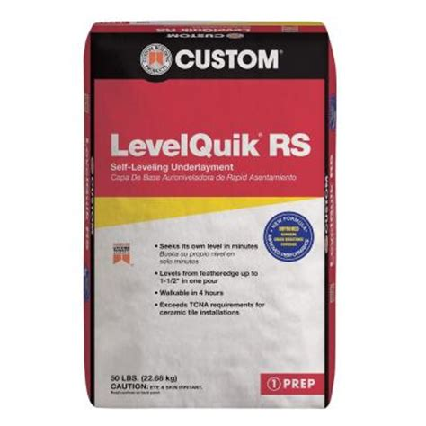 custom building products levelquik rs 50 lb self leveling