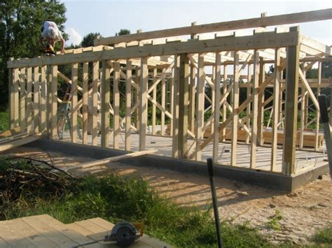 Gambrel Roof Barn Kits Stick Framing For Pole Barn