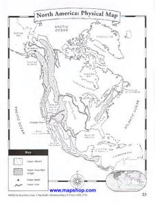 us physical features map printable blank map of america physical features